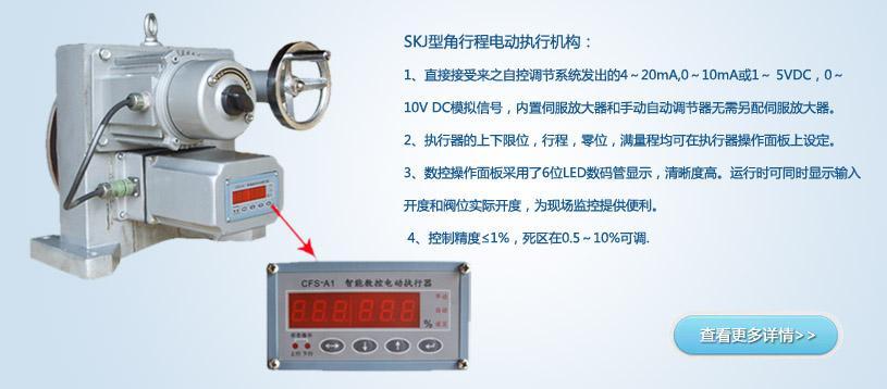 dkz型直行程电动执行机构